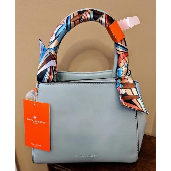 8ecd9d0a33ed David Jones Bags | Nwt Paris Small Scarf Bag | Poshmark